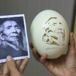 Bán vỏ trứng đà điểu